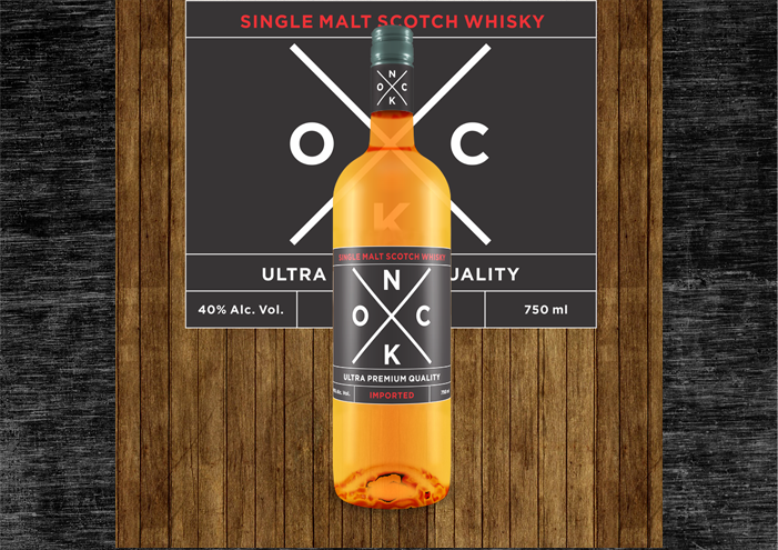 Whisky Label