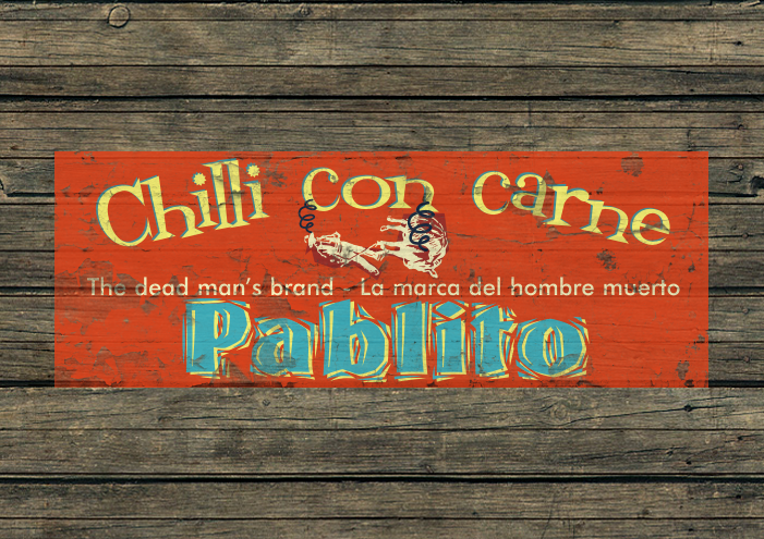 Homemade Chilli Label