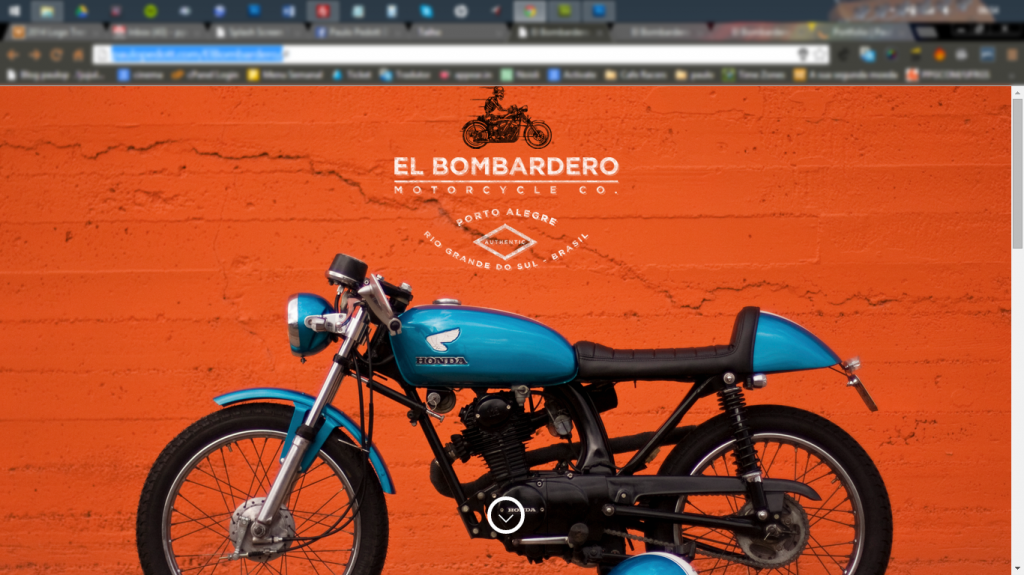 Website: Motorcycle customization company
